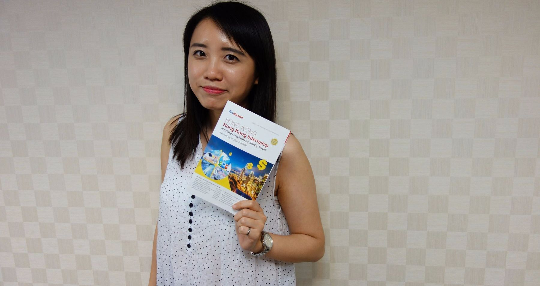 曾因英語不好被笑 現在她為高中生媒合海外實習機會