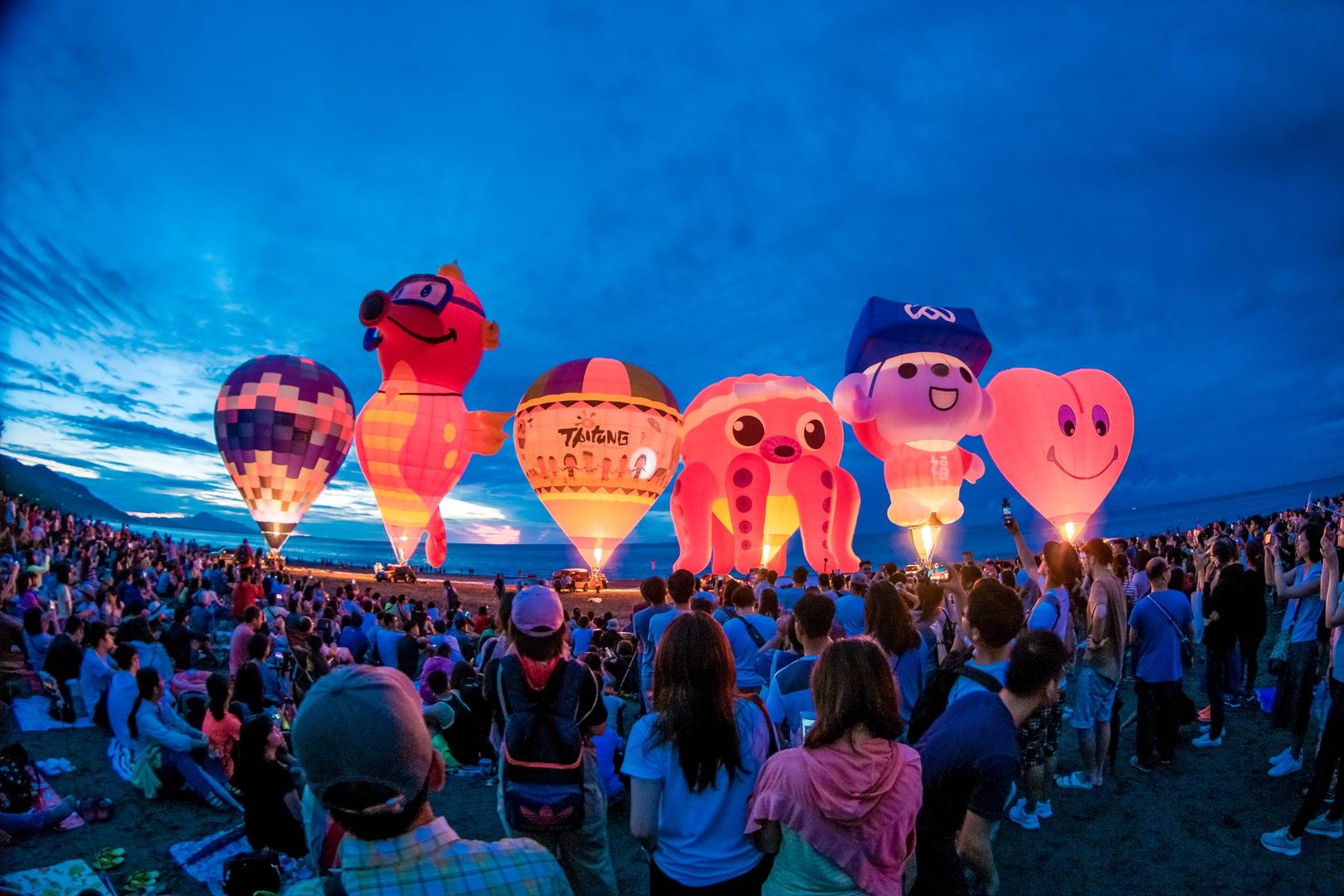 台東熱氣球嘉年華超吸睛!城市國際化獲知名訂房網站肯定