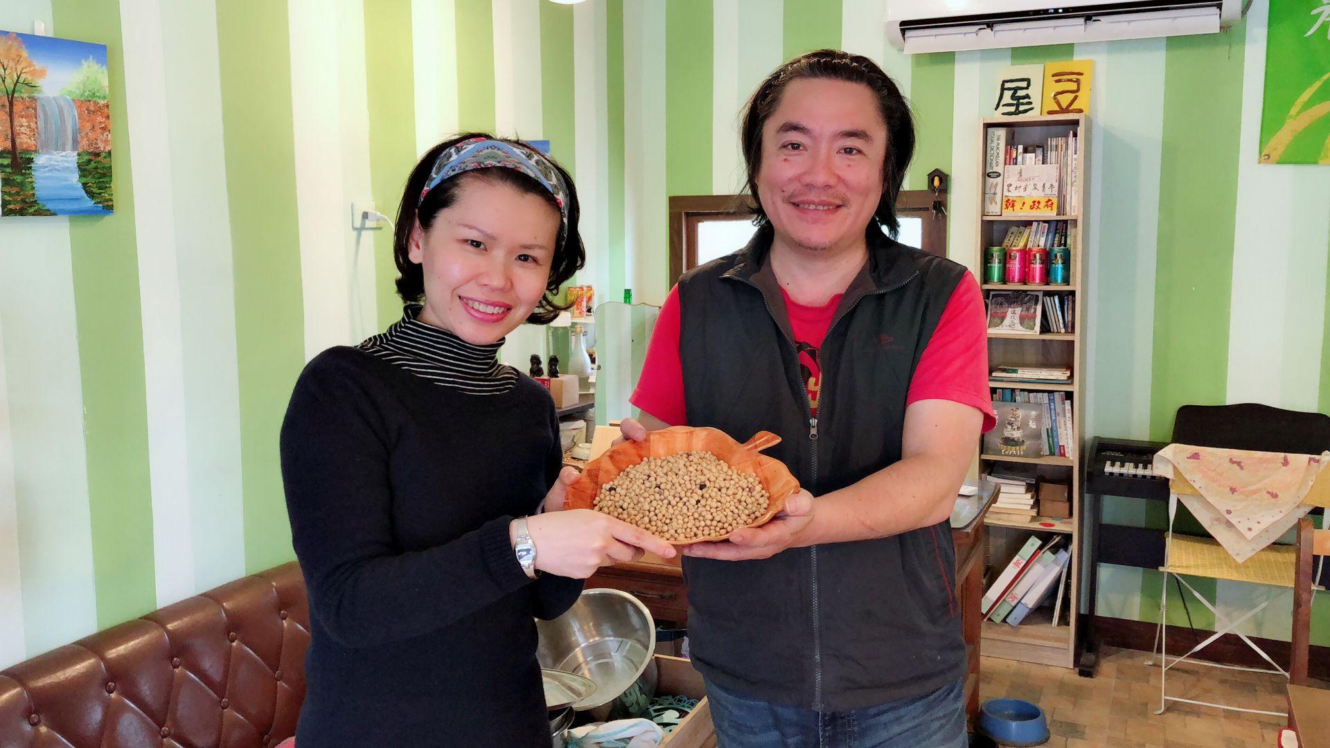 用愛播種的希望黃豆田—豆腐哥的感動料理