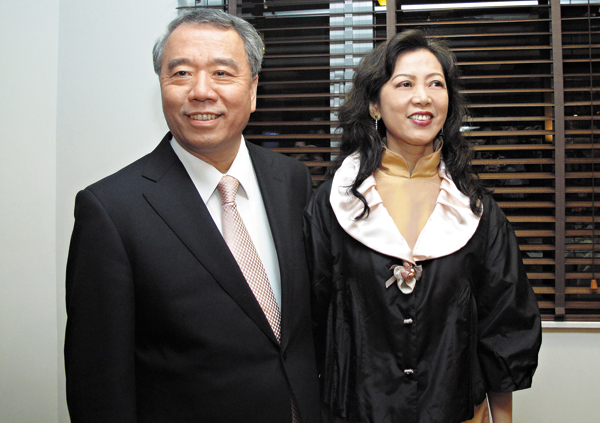 魏應州與太太