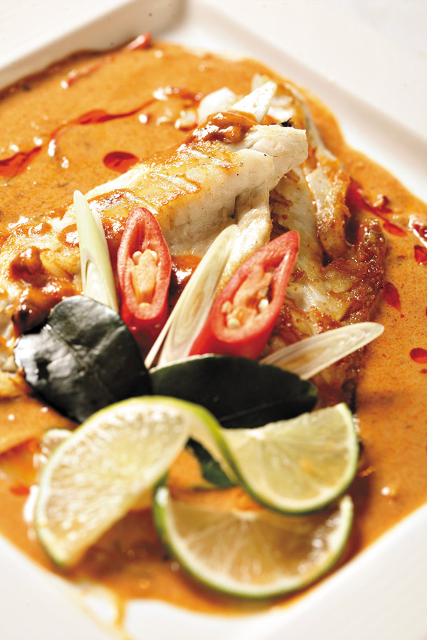 泰式香烤鱸魚
