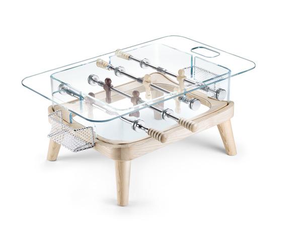 透明手球桌