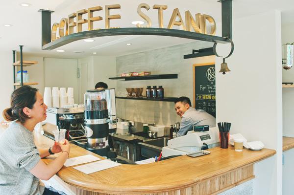 三角窗的小咖啡座