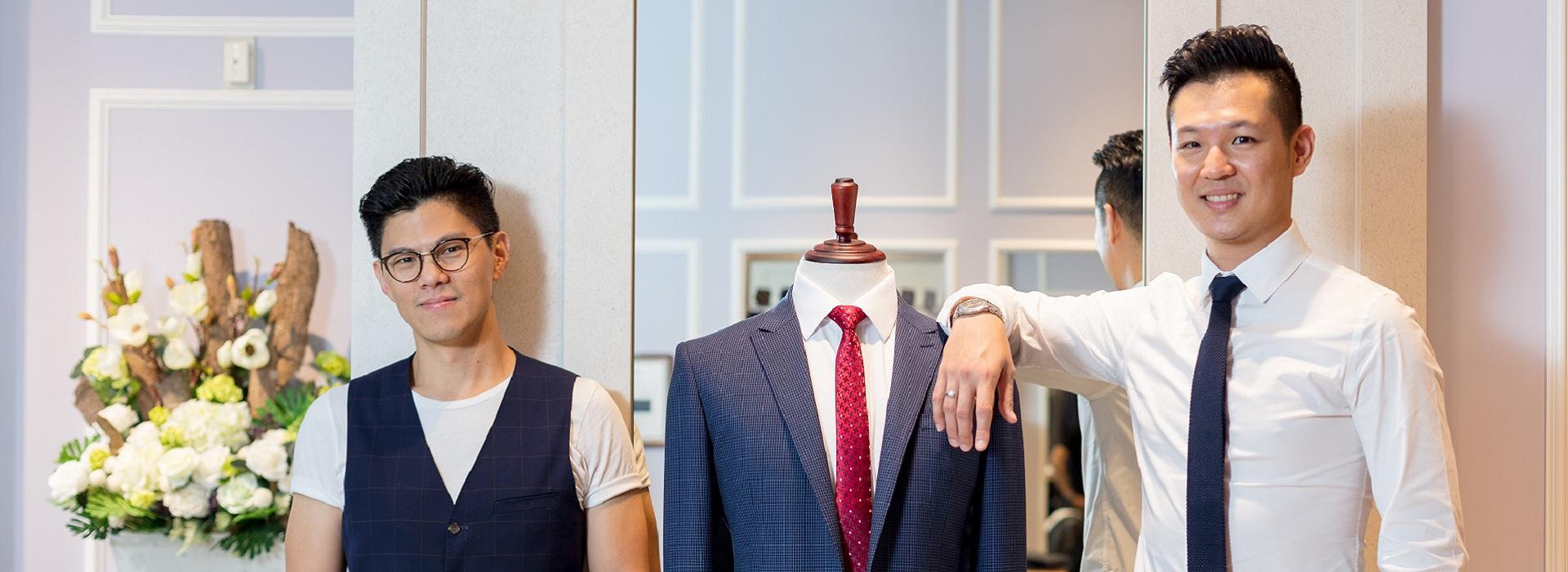 和蘋果Face ID一樣精準! 兩個台灣青年用科技翻轉服飾業