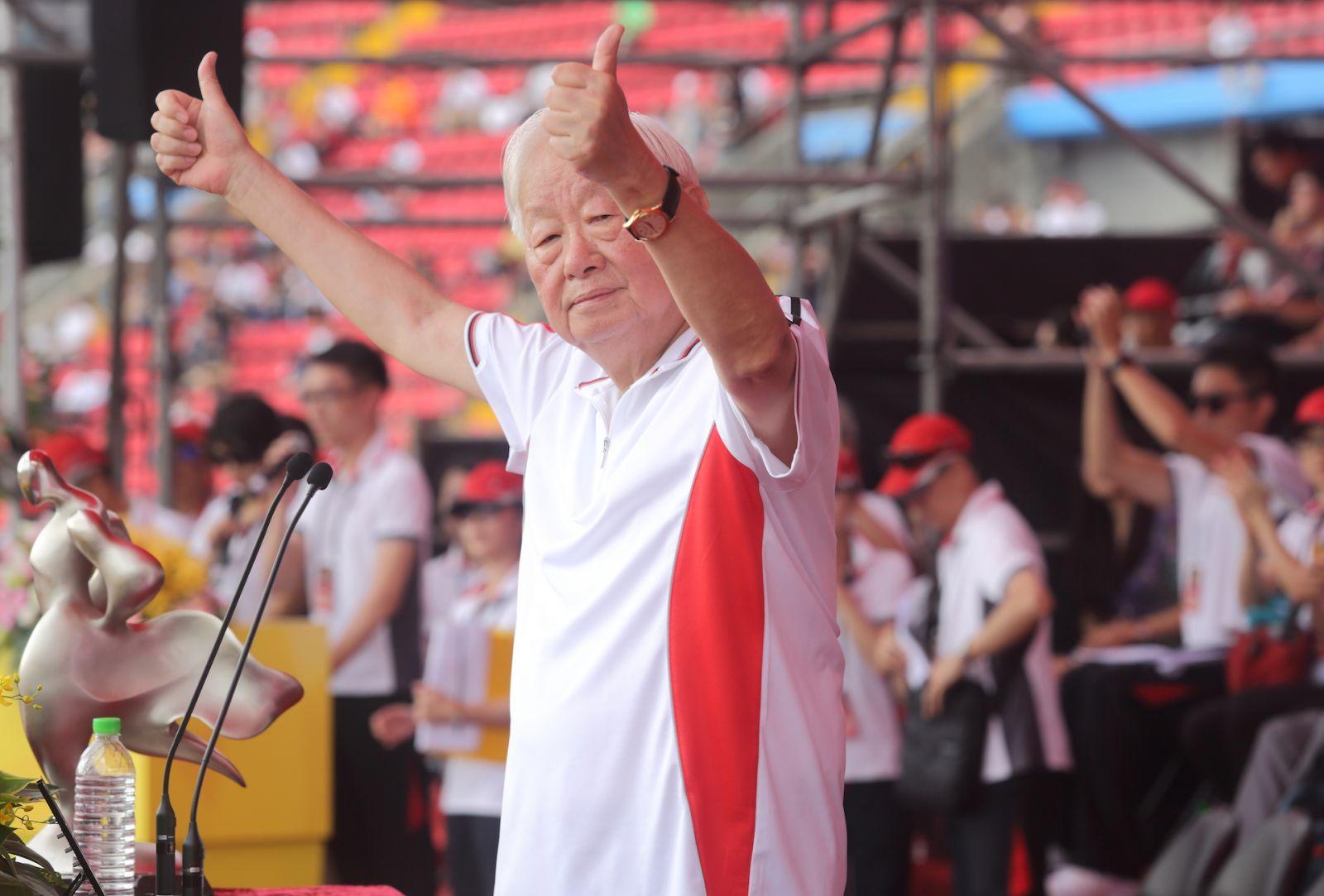 張忠謀證實 1989年時三星李健熙曾延攬他
