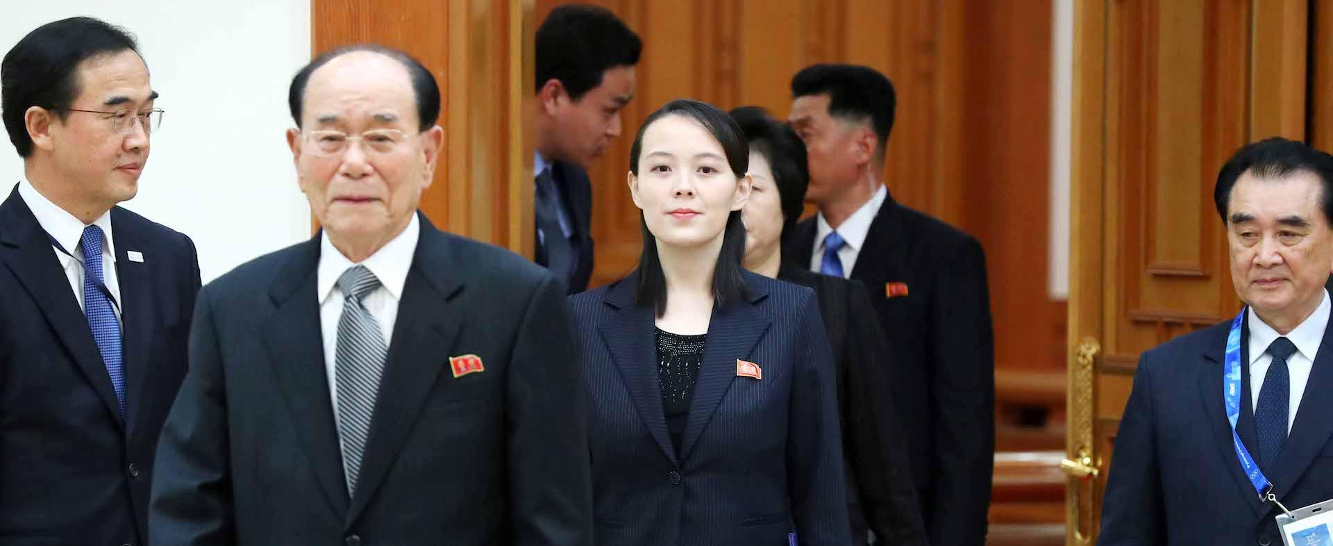她28歲  權力僅次領導   金正恩妹妹神秘曝光