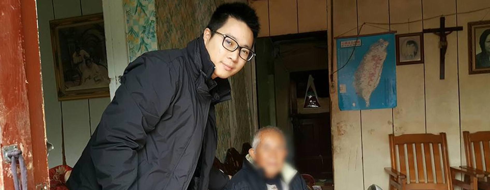 放棄大好前途 30歲暖男醫師在台灣深耕第一線長照
