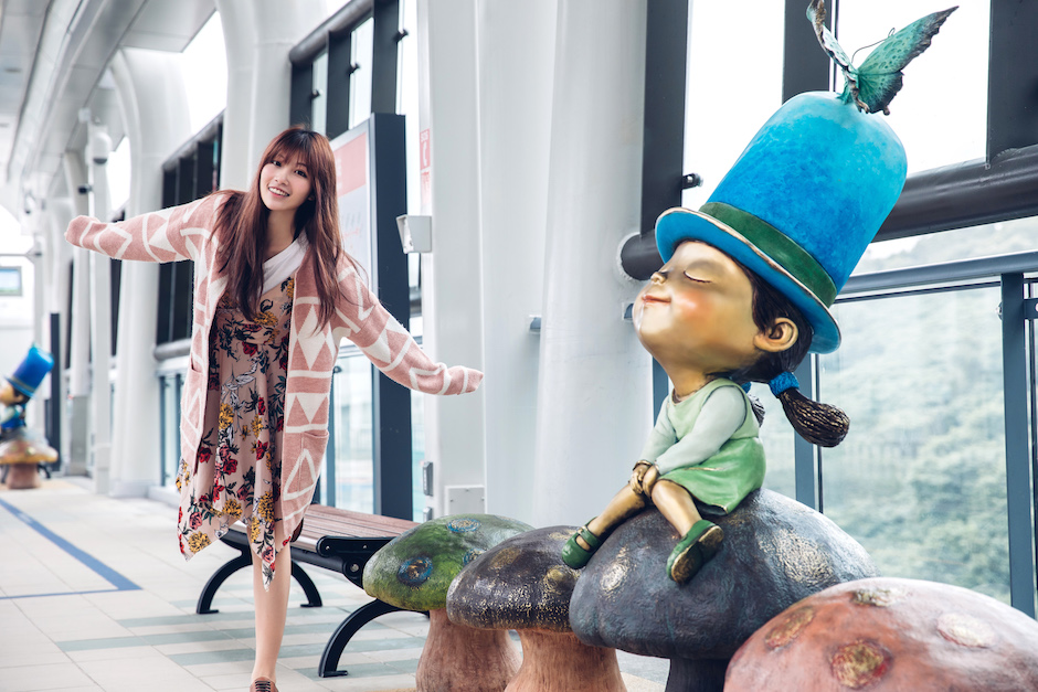 淡海輕軌沿線內行玩法公開!淡水除了老街還有新景點!