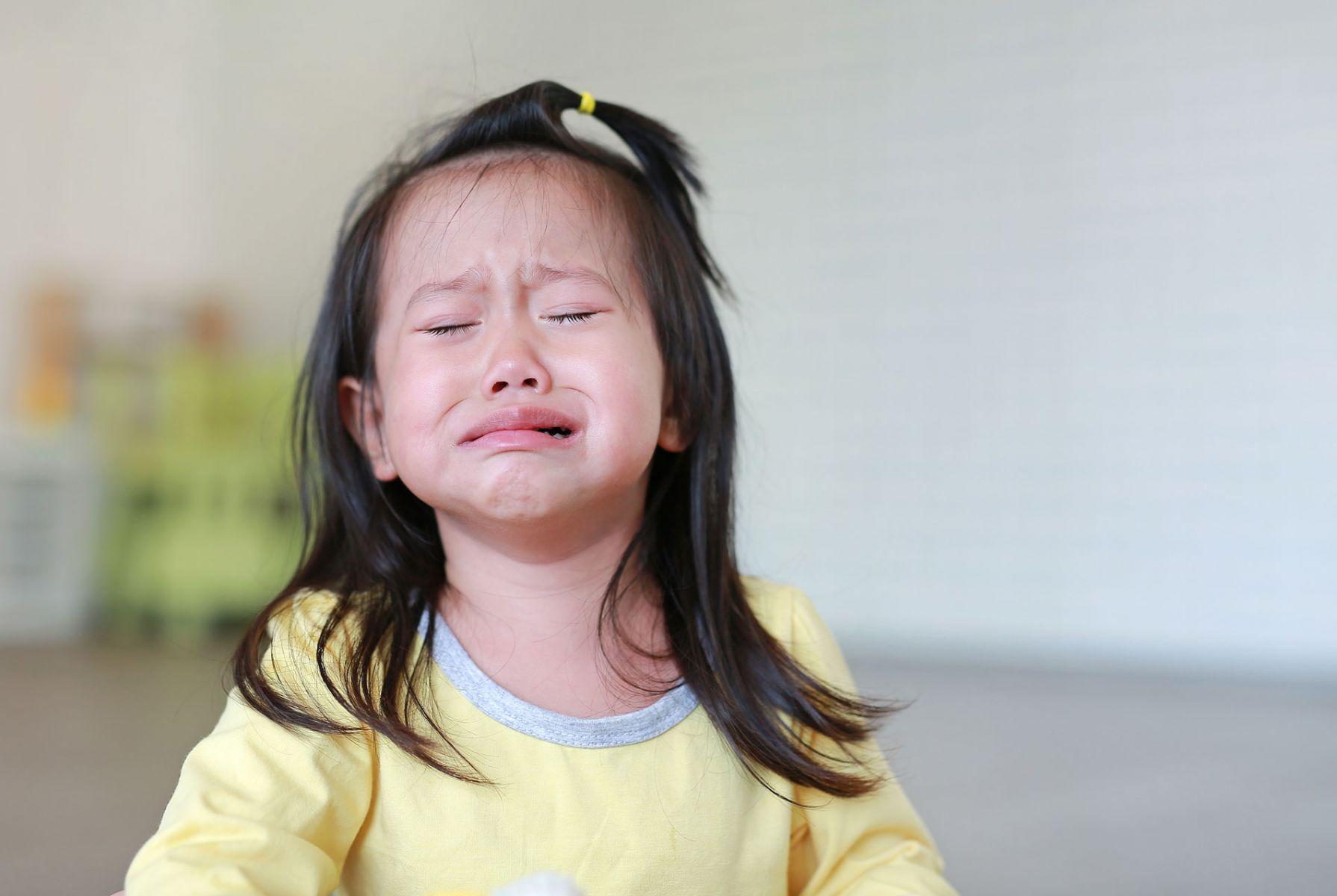 上學時的依依不捨 都是哭給父母看的?