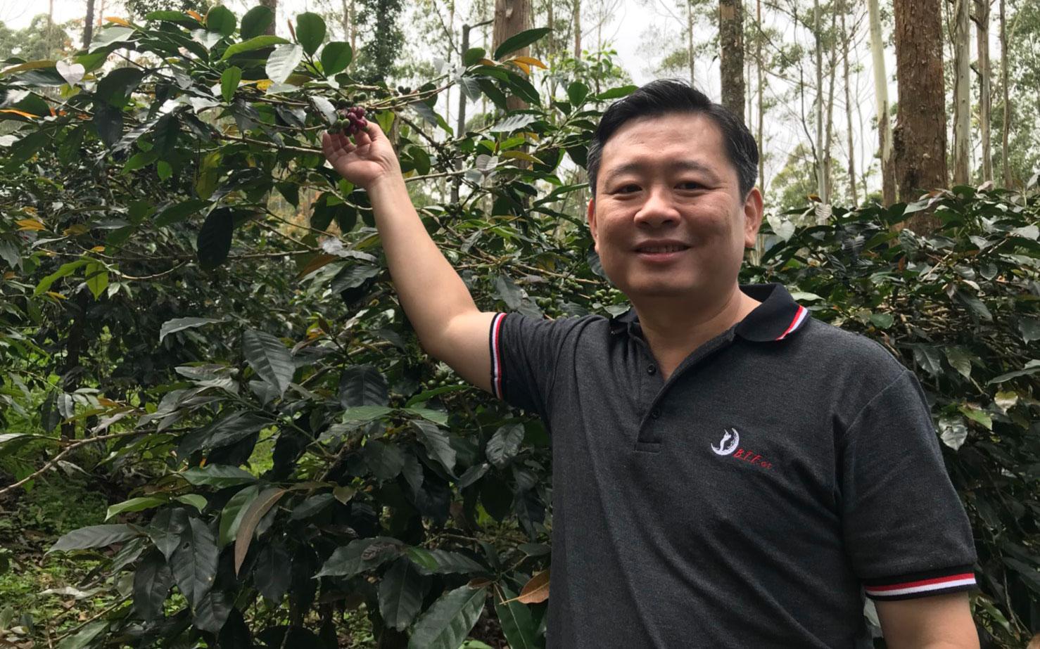 紡織業二代變農夫 習近平、安倍都喝過他的麝香貓咖啡