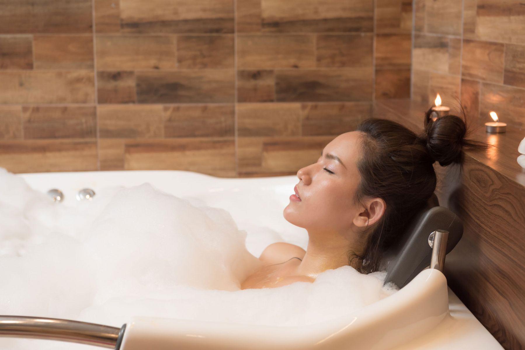 緊張型頭痛,泡澡可以舒緩症狀
