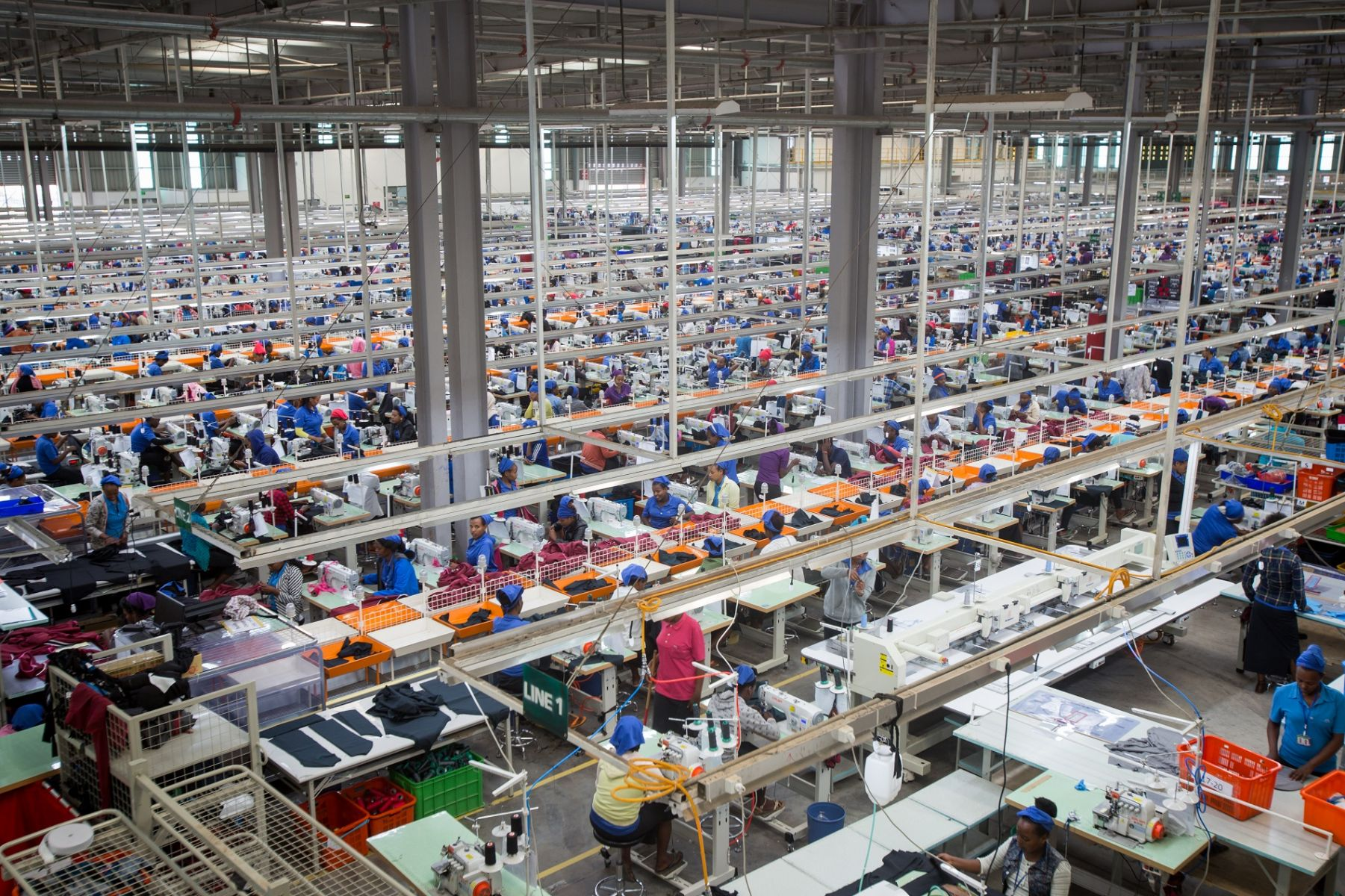 台灣知名紡織廠宏遠海外第一座成衣廠設在衣索比亞
