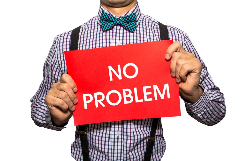為什麼有no problem卻沒有no issue?