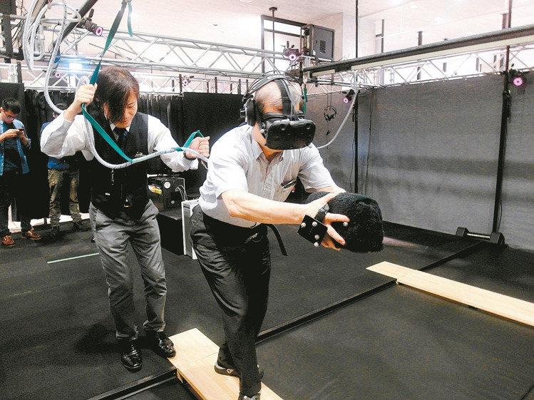 虛擬實境當道 極限運動在家就能玩