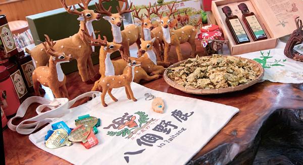 八個野鹿在臺東 拼出鹿野新遊程