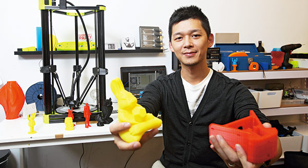 兩個台灣青年 力推「小製造」革命