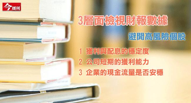 三個層面定期檢視財報,控制手中持股「風報比」