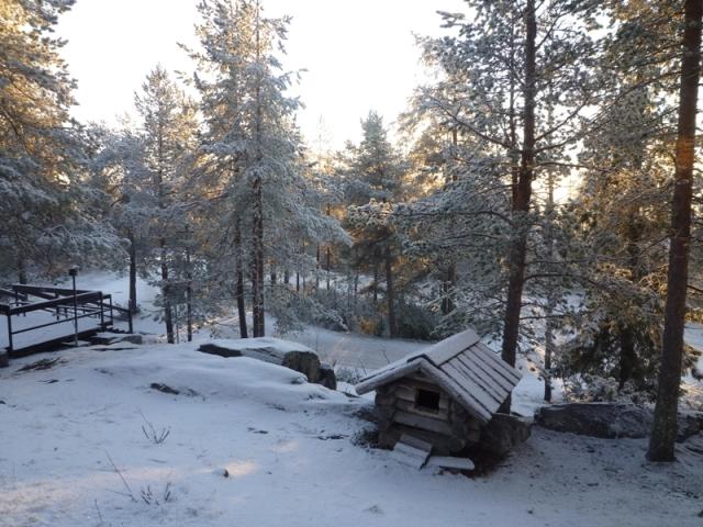 我,在芬蘭,不斷的被震懾......