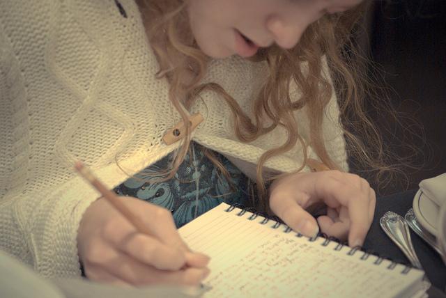總編輯這樣教女兒寫作文……