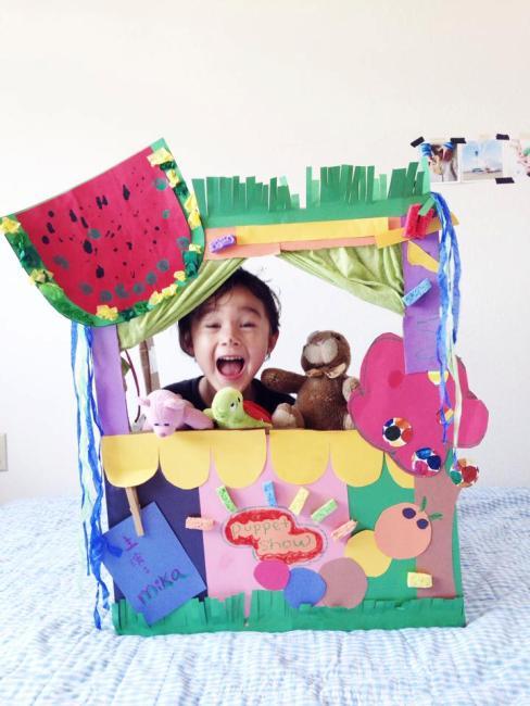 DIY:Puppet show 木偶舞台劇