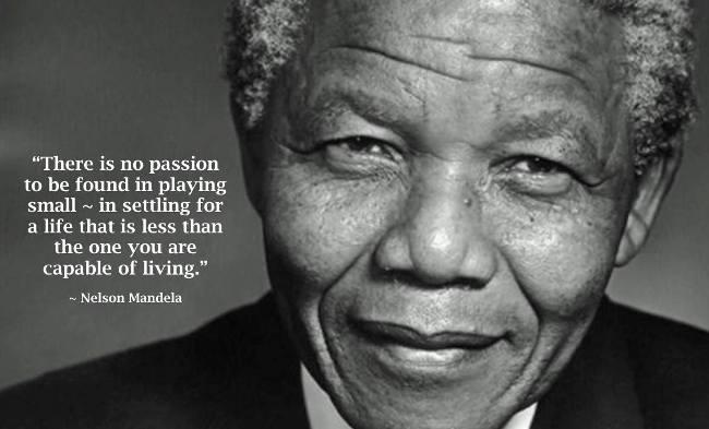 偉大的人帶給你啟發,而不是敬畏─向曼德拉致敬