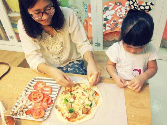 全家的幸福感 與好菜一起出爐