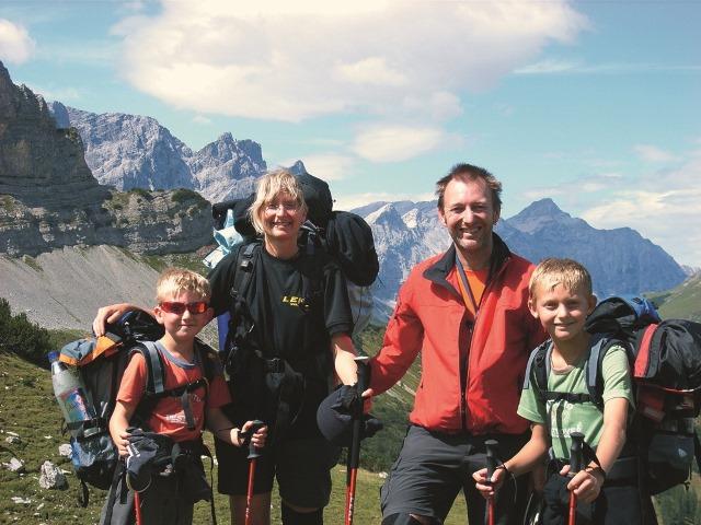 跟孩子一起翻越阿爾卑斯山