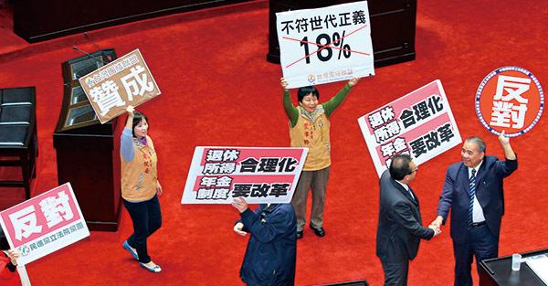 再無視年金改革  台灣就比希臘還慘!