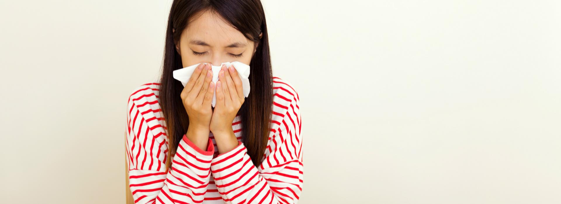 每天一早流鼻水、打噴嚏?手術改善惱人鼻子過敏