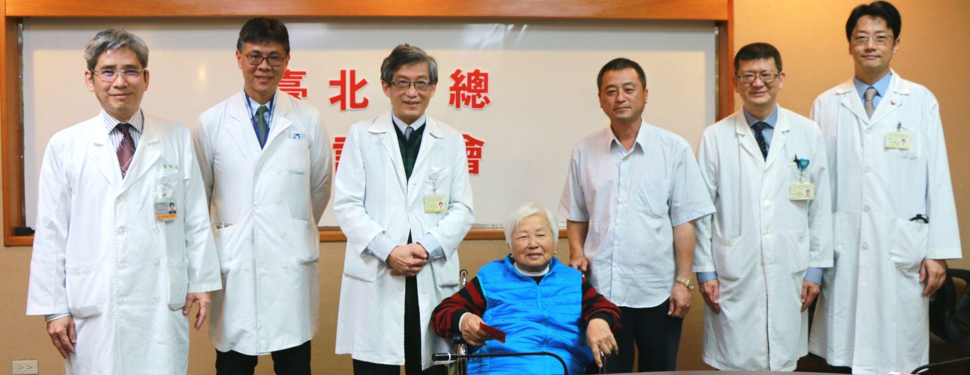 先動心臟手術,再治大腸癌 成功搶救七旬婦人