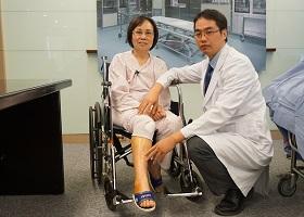 吃止痛藥也沒用!71歲婦女靠這招 成功戰勝退化性關節炎