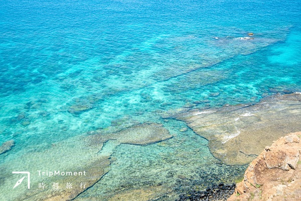 澎湖南方四島國家公園》清澈海水好驚豔!海膽、魚兒就在港口裡