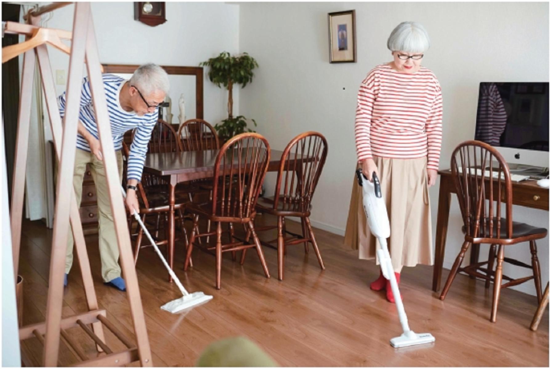 一起做家事  IG爆紅夫婦「bonpon」退休生活幸福爆表