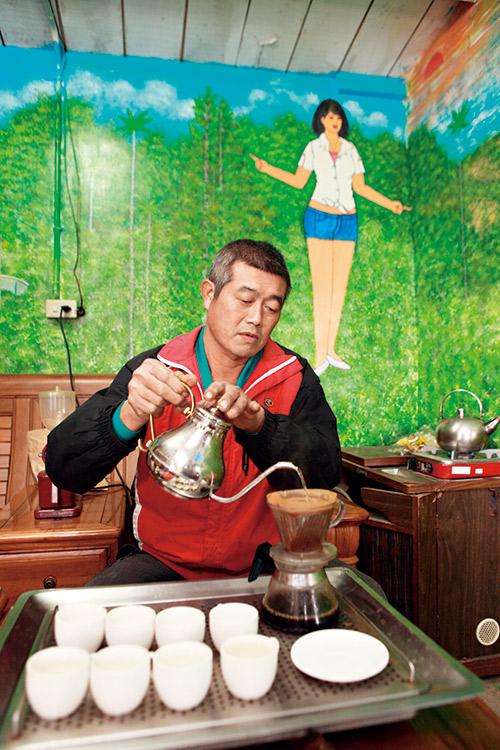 台東佐佑品咖啡農