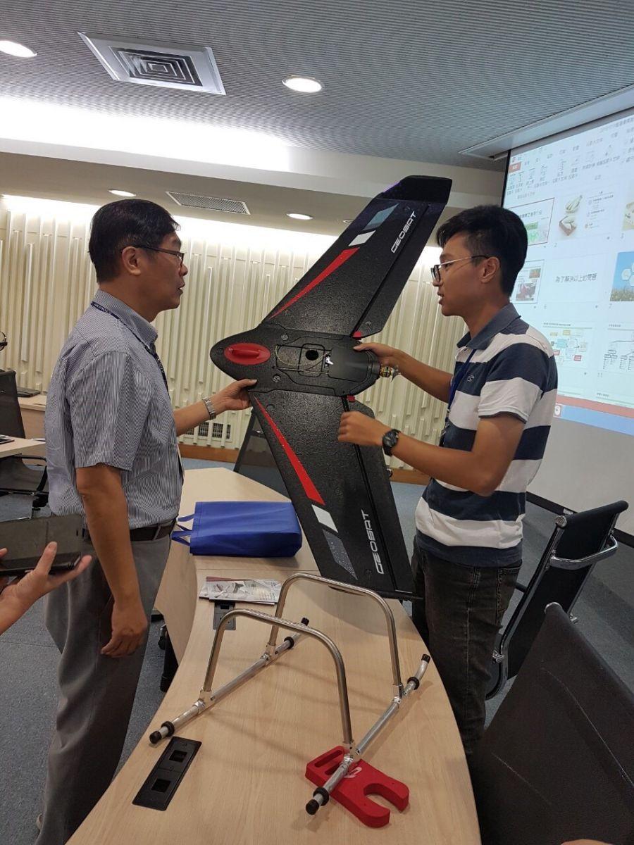 經緯航太無人機開創智農新時代
