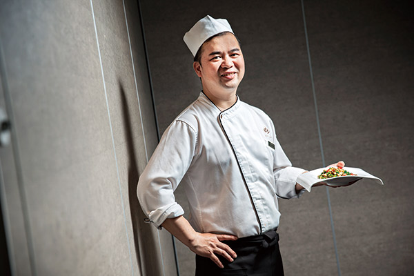 主廚蔡振榮烹調非常有想法做工非常細膩