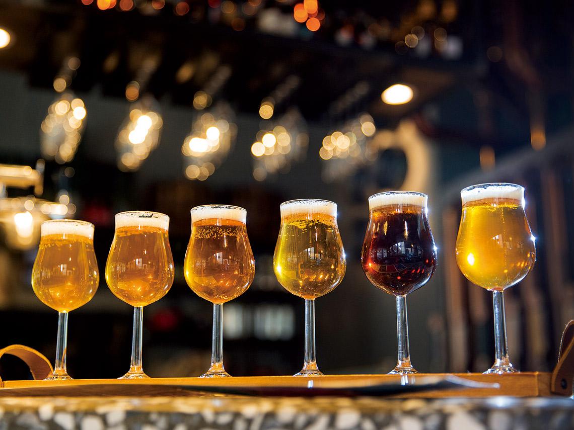 小天使啤酒組合有店內6種啤酒經典風味一次享受。
