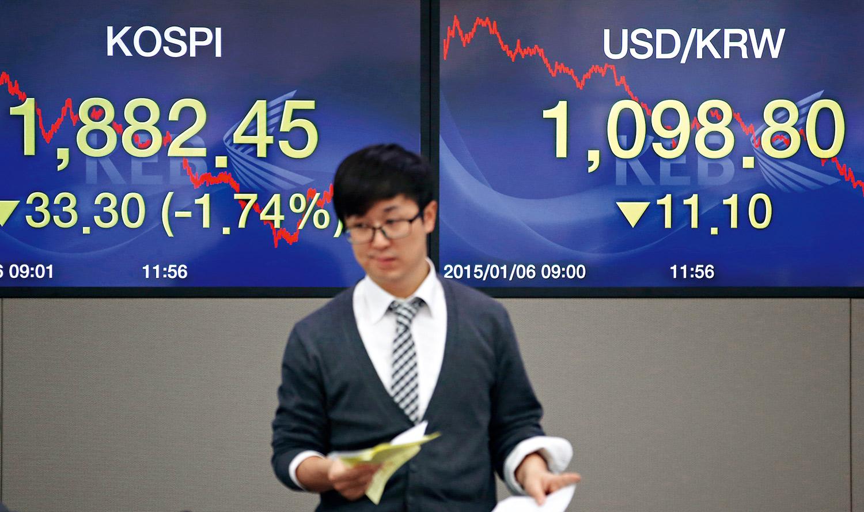 全球競貶風已吹到亞洲