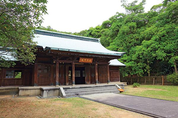 桃園忠烈祠有蔡阿嘎最喜歡的日式建築