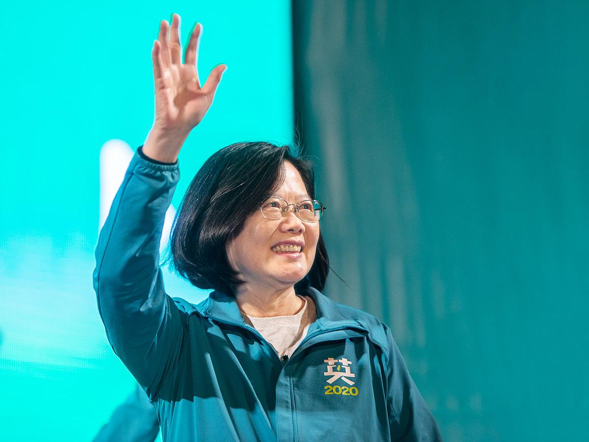 蔡英文確定當選!大贏260萬票擊敗韓國瑜連任成功