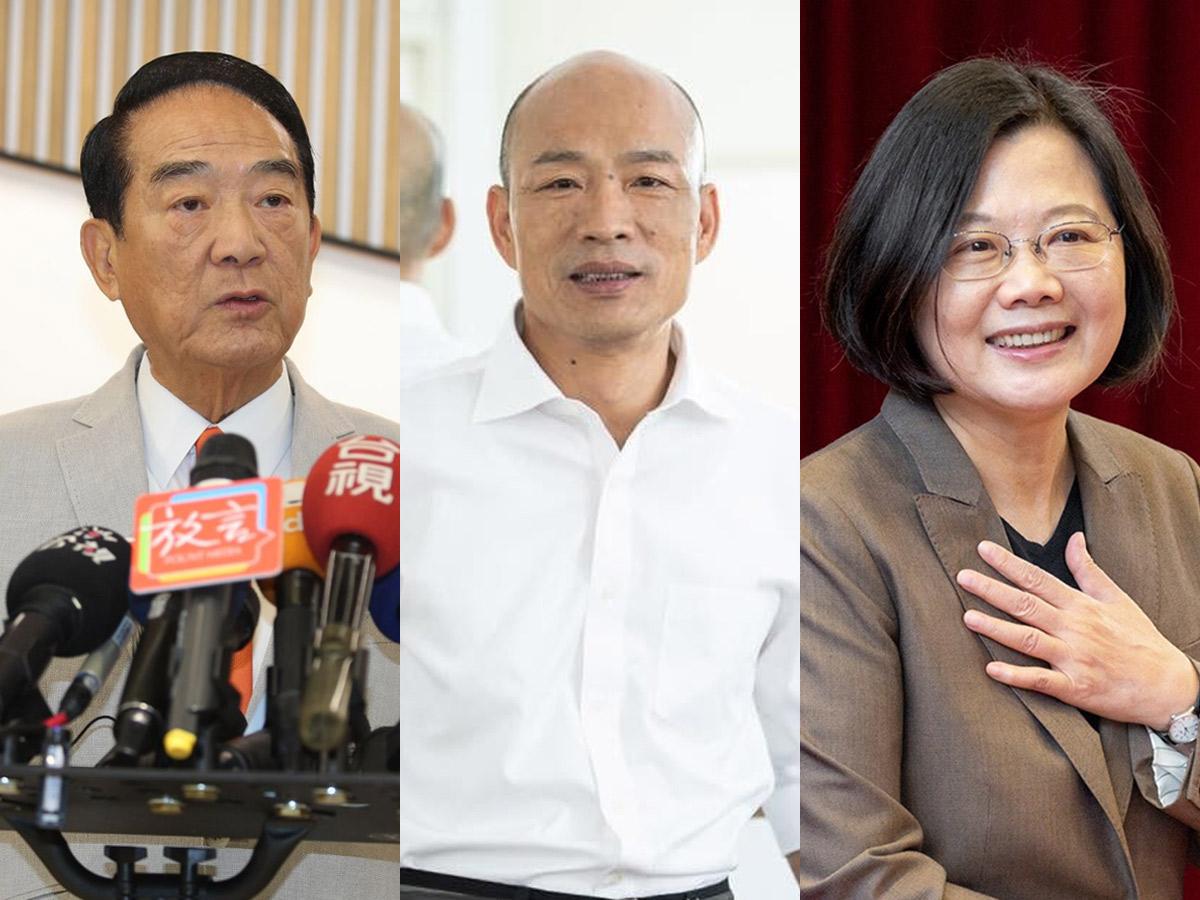 「膝蓋遇到中國挺不住」、「不要擠牙膏的把韓國瑜往一國兩制擠」 總統辯論會金句一次看