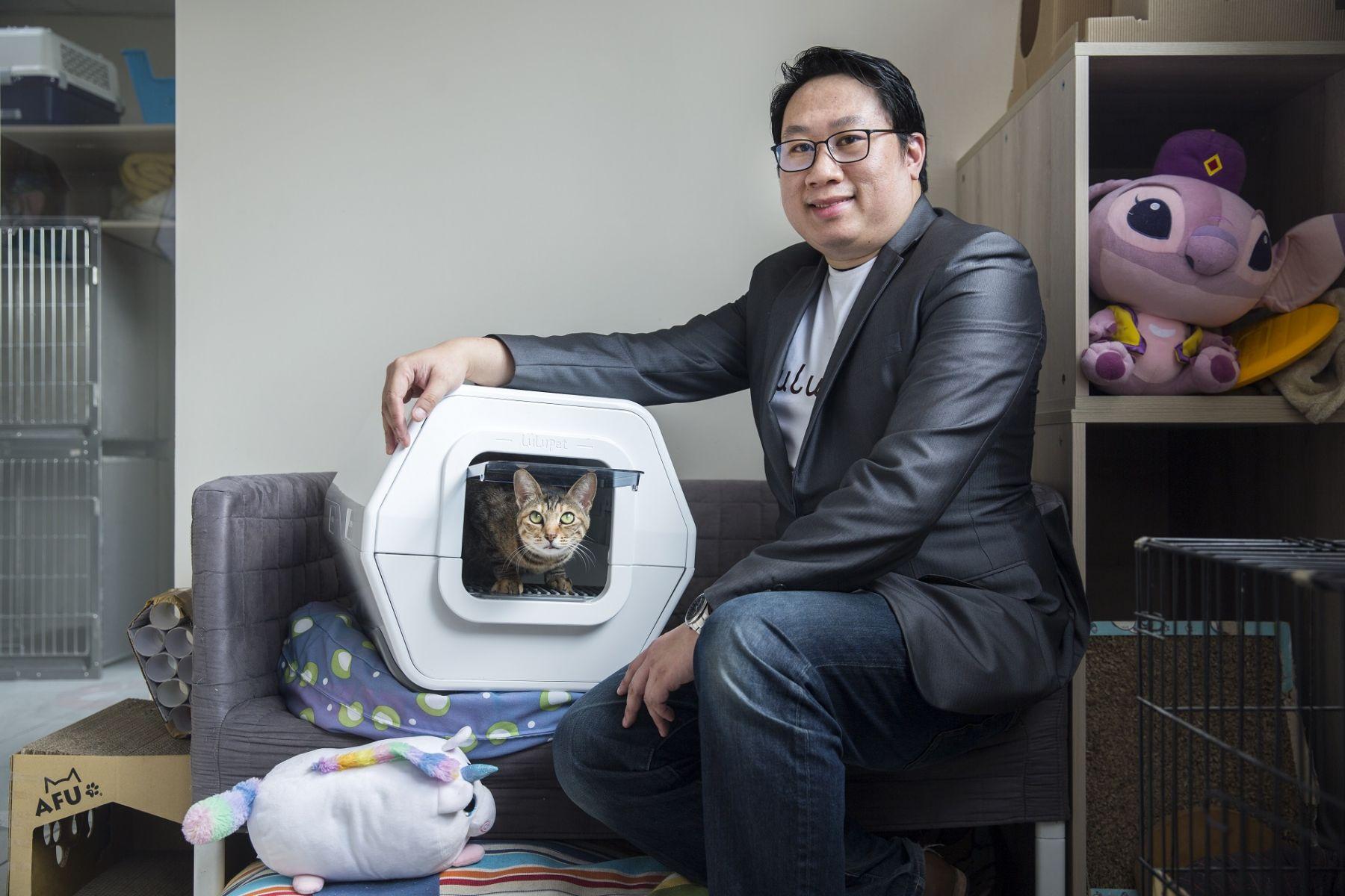 童年移民美國慘遭欺負,苦讀闖進矽谷⋯為何他決心返台創業,用「貓大便」挺進百億寵物商機?