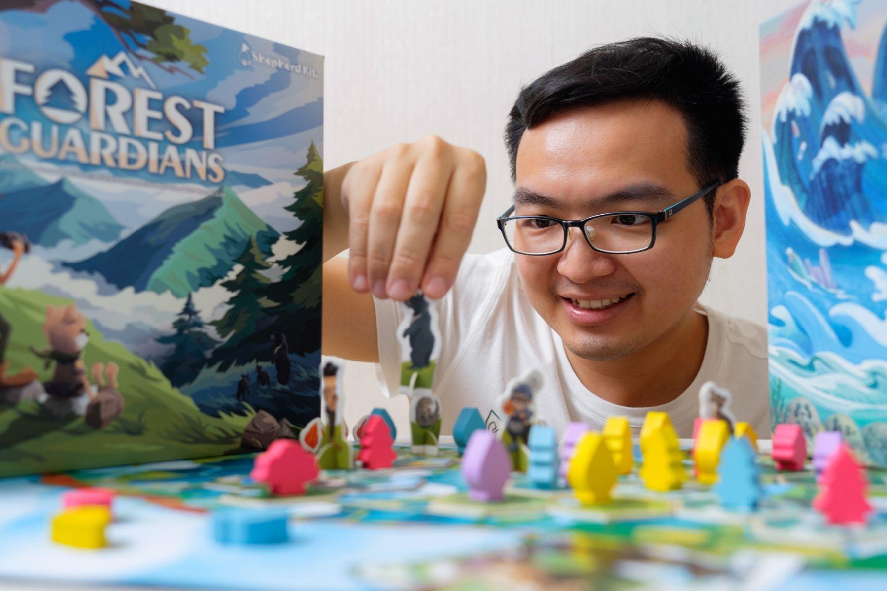 把台灣黑熊、石虎通通做成遊戲角色!這個本土團隊憑什麼把桌遊賣進大英博物館?