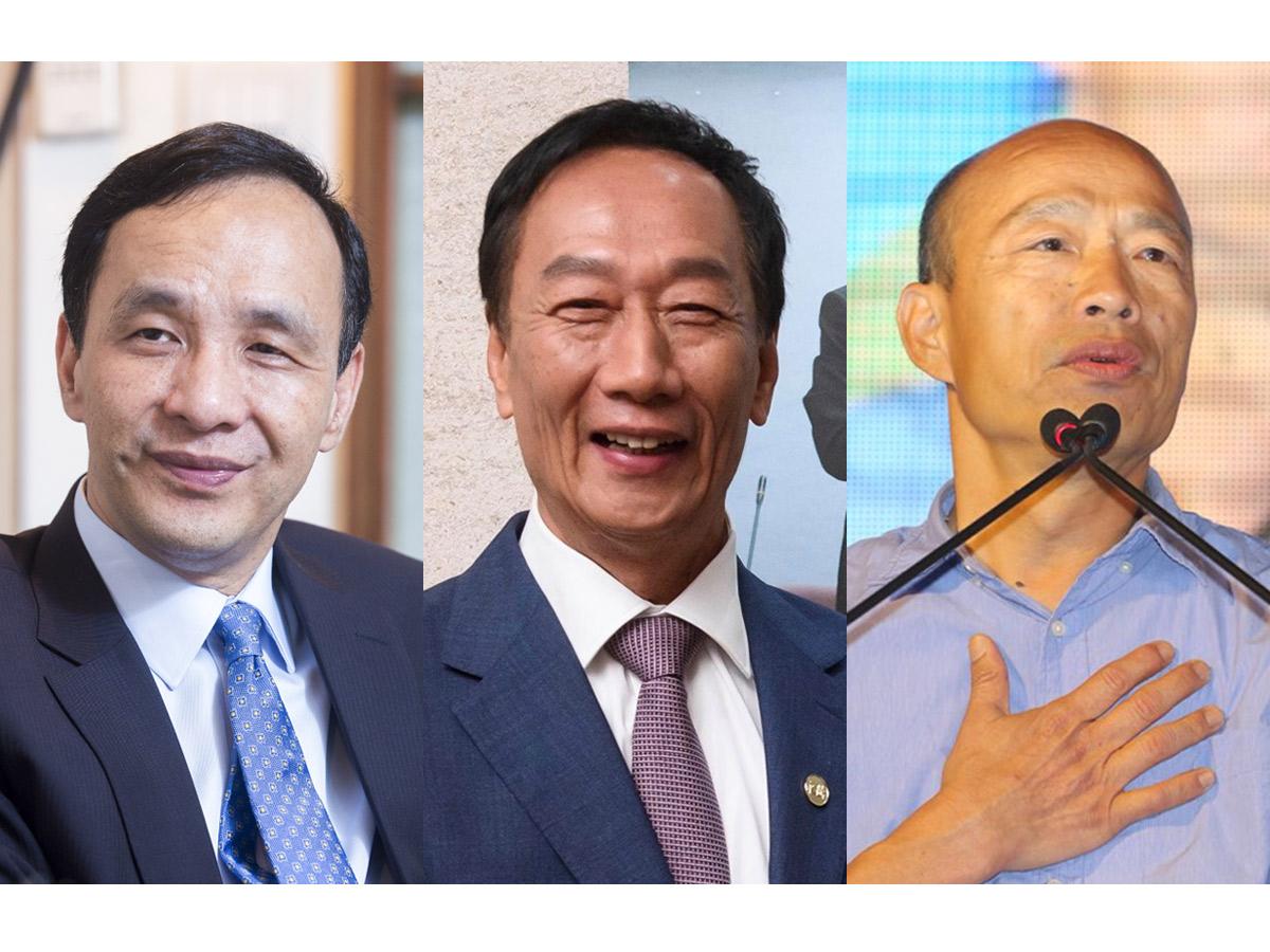 國民黨2020初選》韓支持度持續下探 誰將是最大贏家?