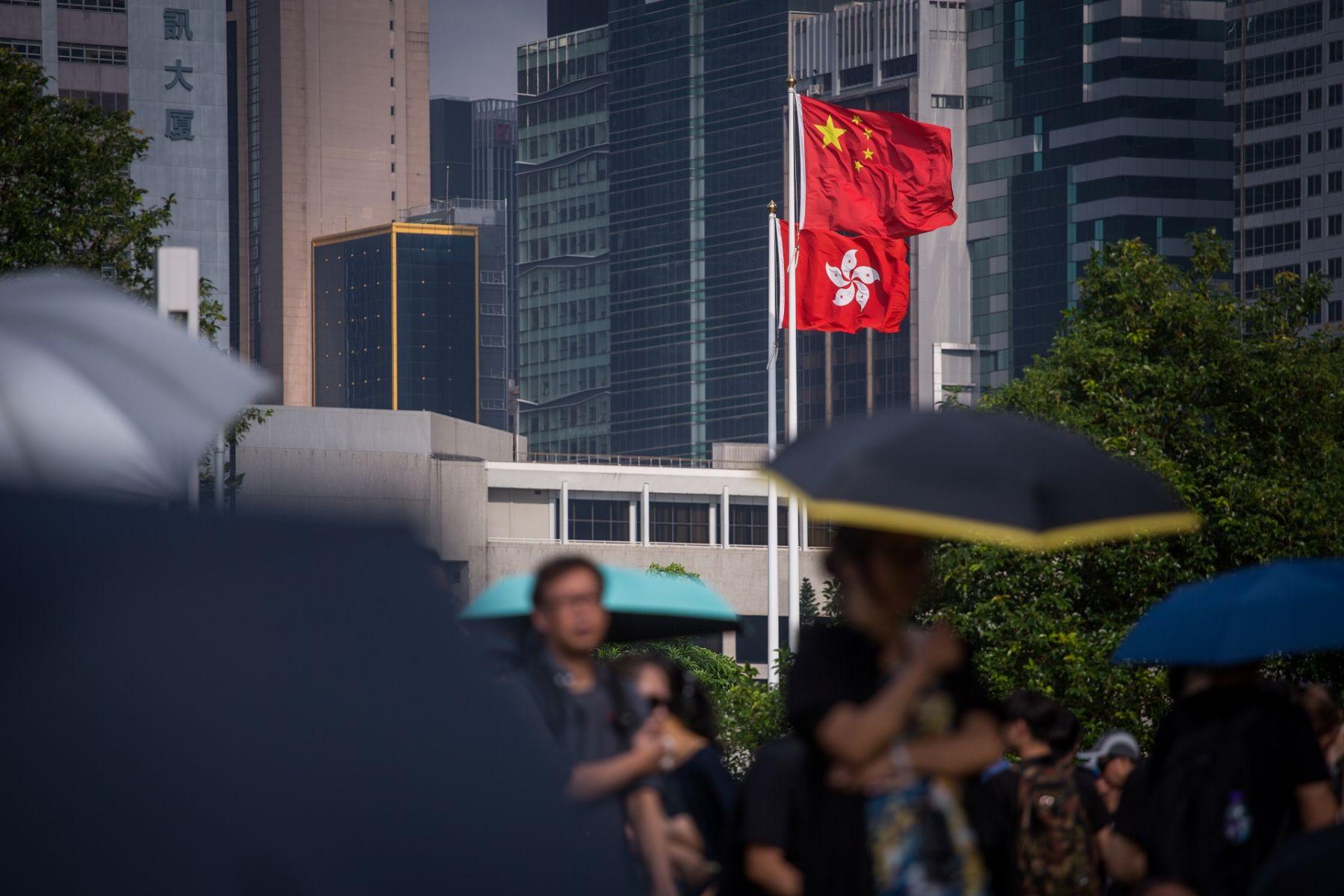 呼籲抵制暴力、支持林鄭 港澳辦強勢回應 暗示香港抗爭運動很難再走下去?
