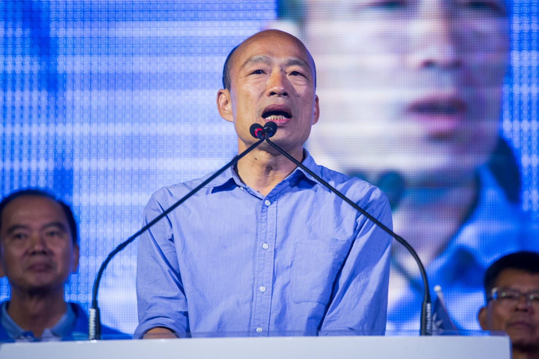 《國民黨茶壺裡的風暴》韓國瑜沒說出口的兩套劇本,為何他頻向郭柯喊話?