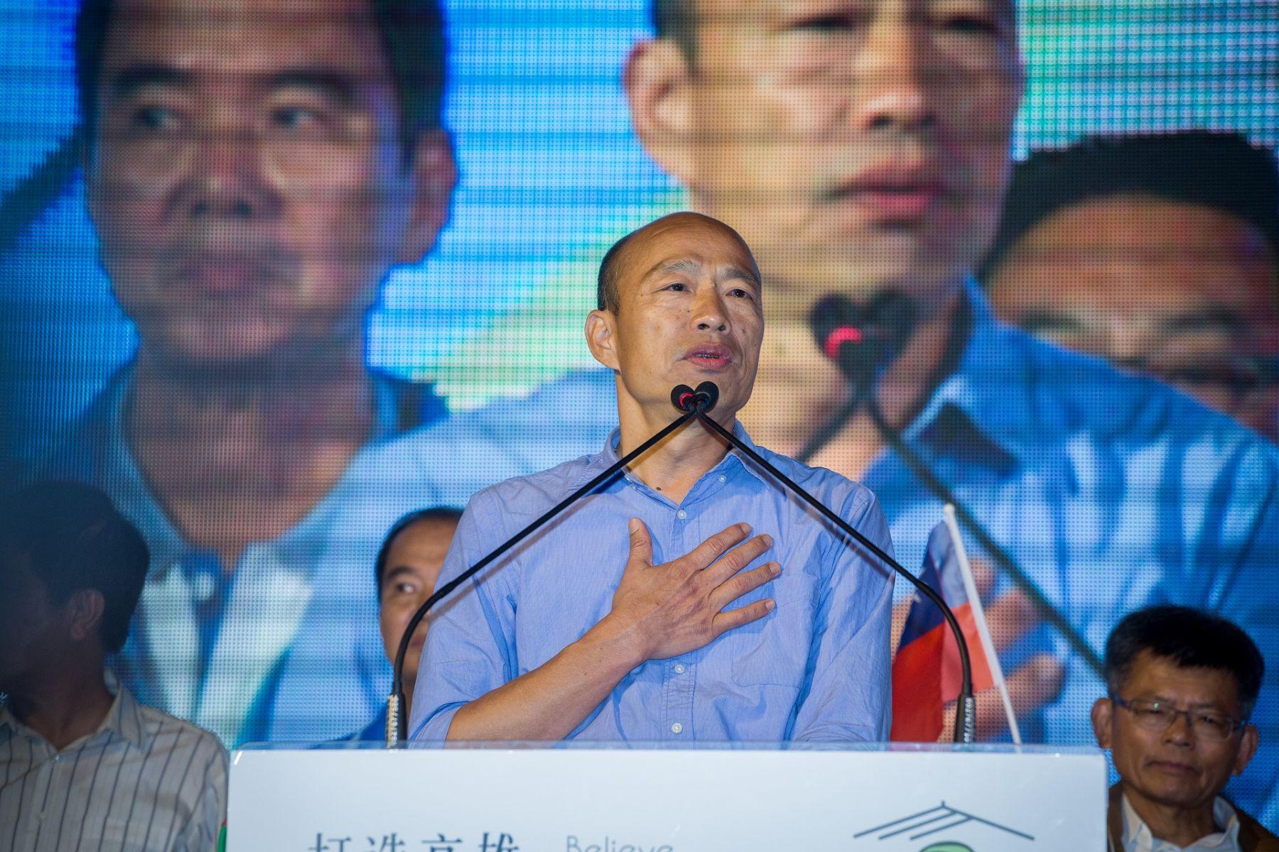 私德風暴!韓國瑜的三大罩門 恐反讓郭王柯結盟「師出有名」