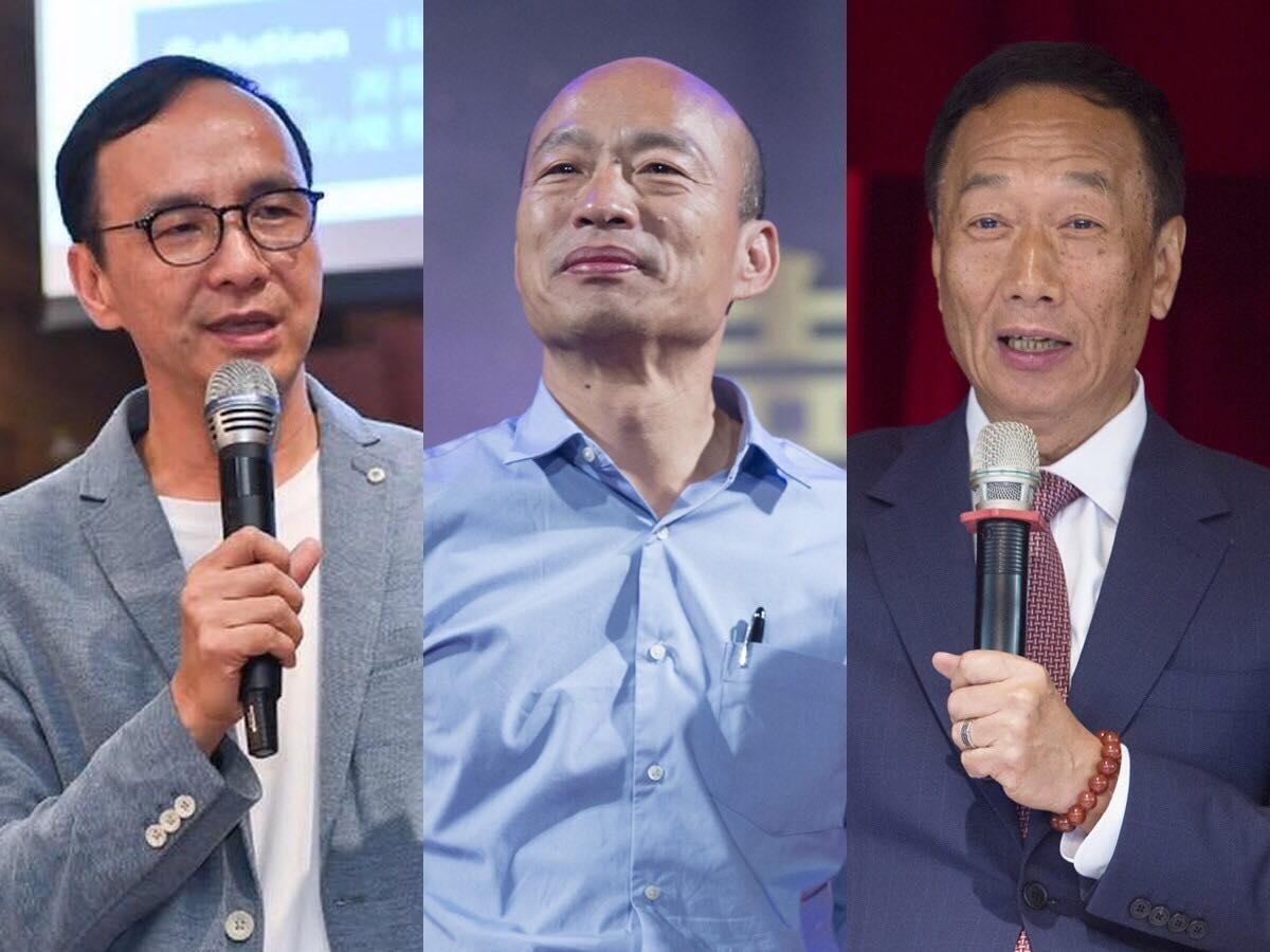 國民黨2020初選》唸唱茄子蛋、大秀布袋戲偶?韓、郭、朱恐怕都沒搞清楚年輕人要什麼
