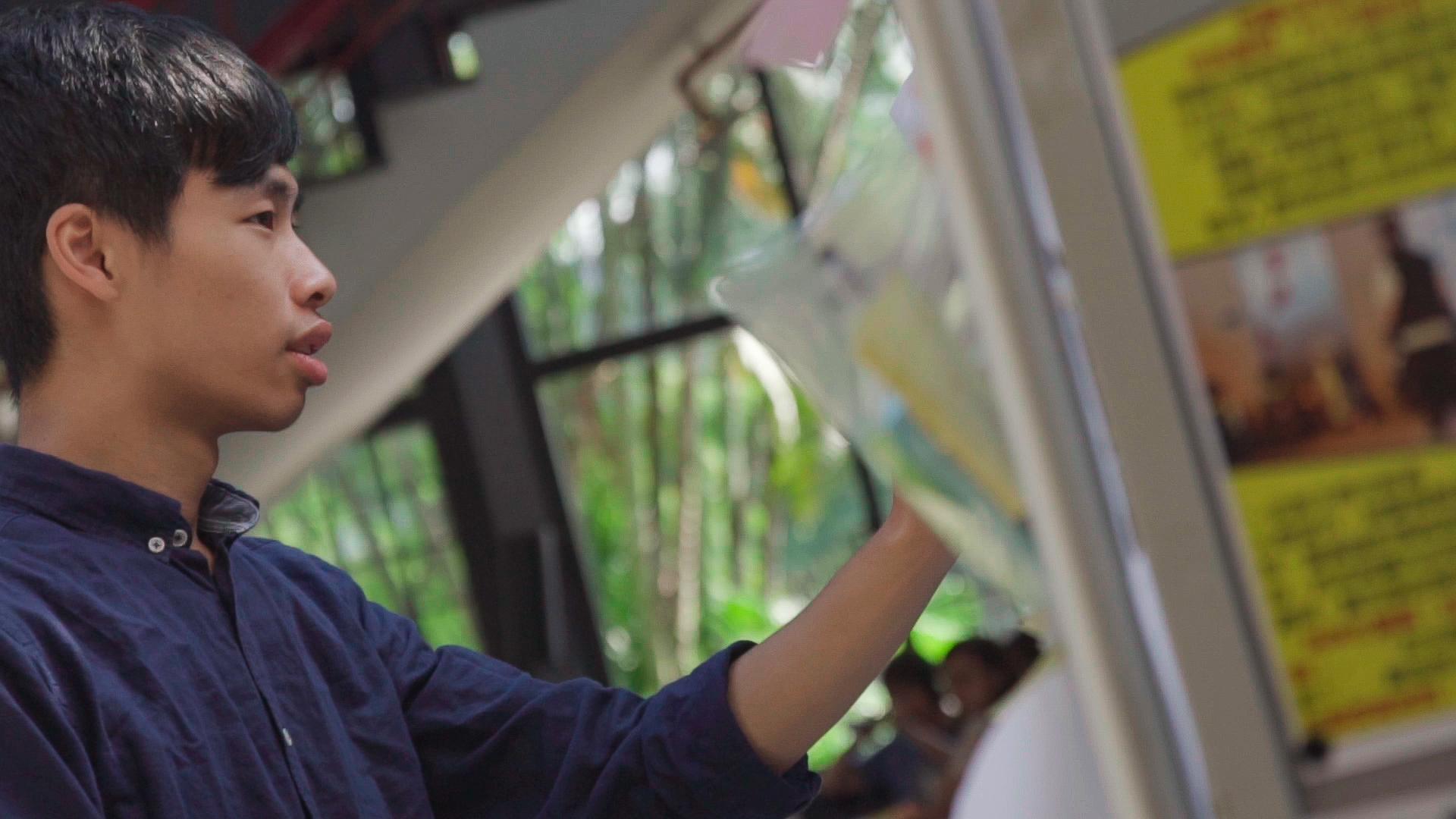 香港「反送中」致詞讓他一夕爆紅 台大學生會長決心掀起「18歲還權青年」運動