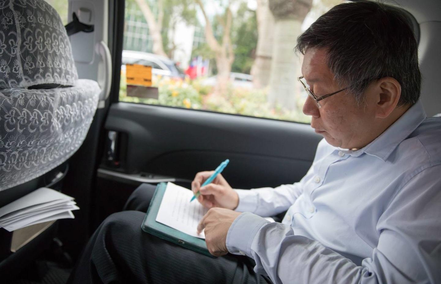藍綠總統候選人到位 柯文哲:台灣應思考蔡韓之外,有無其他解方